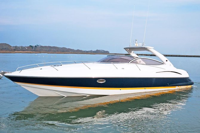 James Bond Experience on actual Sunseeker from Bond movie