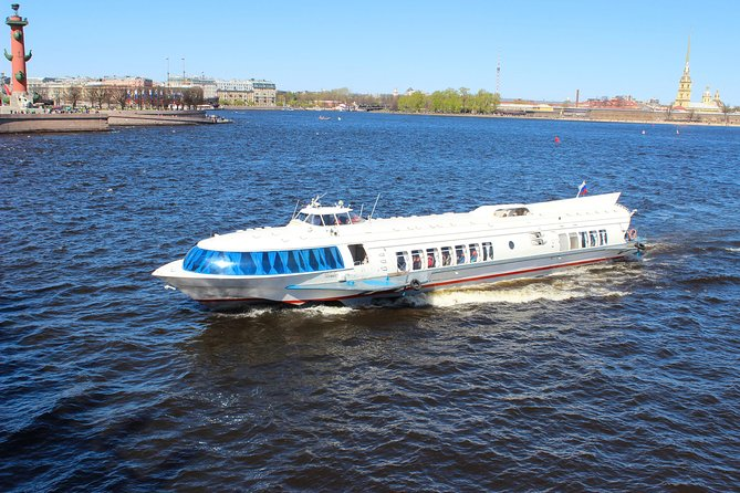 Skip-the-Line Hydrofoil ticket to Peterhof Gardens