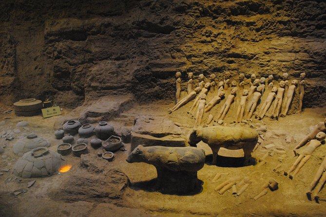 Privat Dagstur af Terracotta Warriors, Cave House og Han Yangling Mausoleum