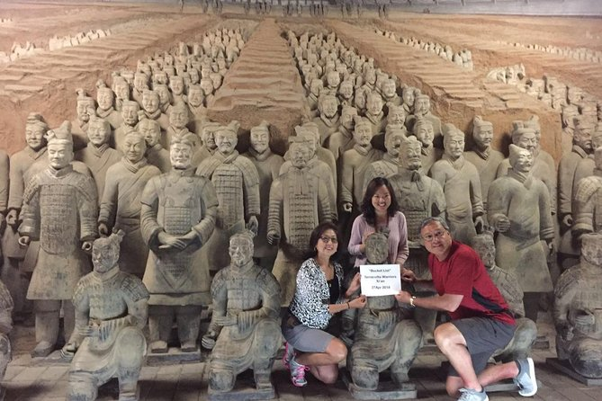Customized Private Day Tour of Terracotta Warriors and Xi'an
