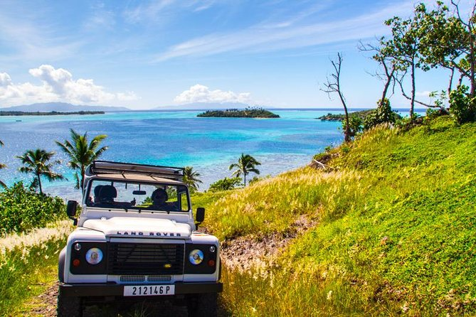 Bora Bora 4WD Tour, Lunch at Bloody Mary's & Eco Shark & Ray Snorkel Cruise
