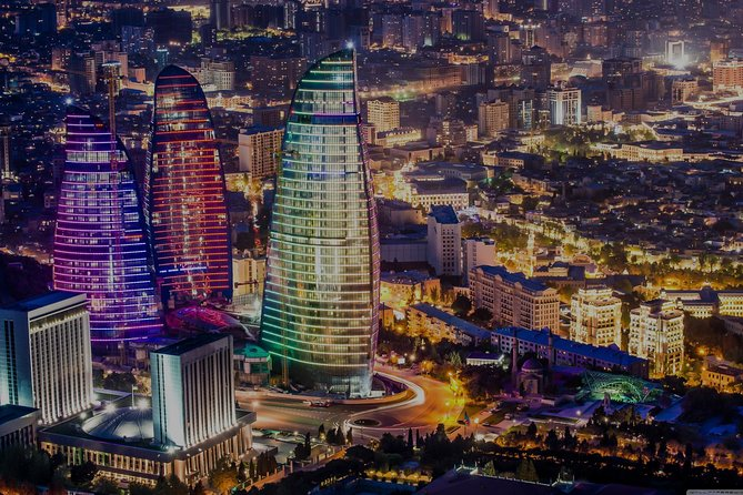 Door to door Baku Airport transfer stable price for 3 person