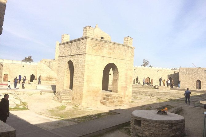 Day Tour Most Visible Sightseeings of Baku price for 3 PAX