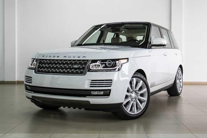 Luxury Airport Transfer with Range Rover Vogue 2015