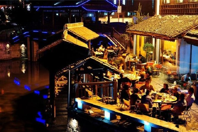 Hangzhou Night Tour With Food Street For Dinner and Beer Tasting