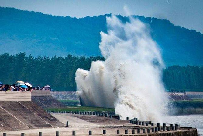 Qiantang River Tidal Bore Watching Day Tour