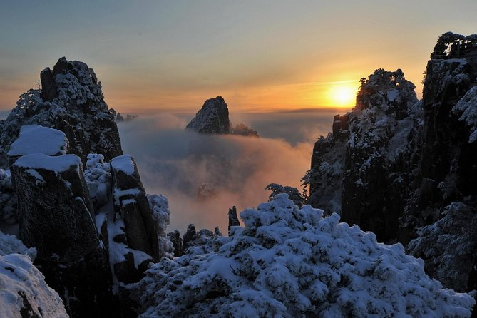 Private Three-Day Huangshan(Yellow Mountain) Tour from Hangzhou by Bullet Train