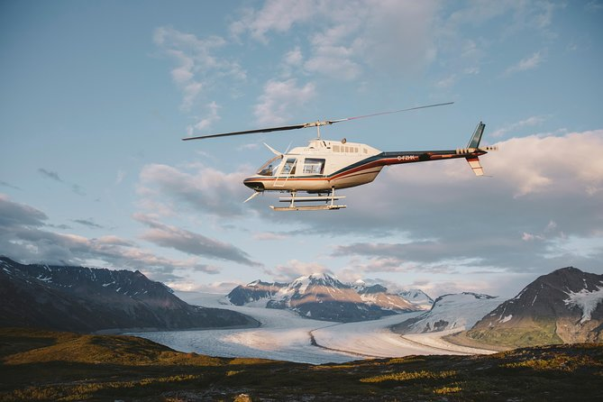 Helicopter Tour with Glacier Landing -75 min