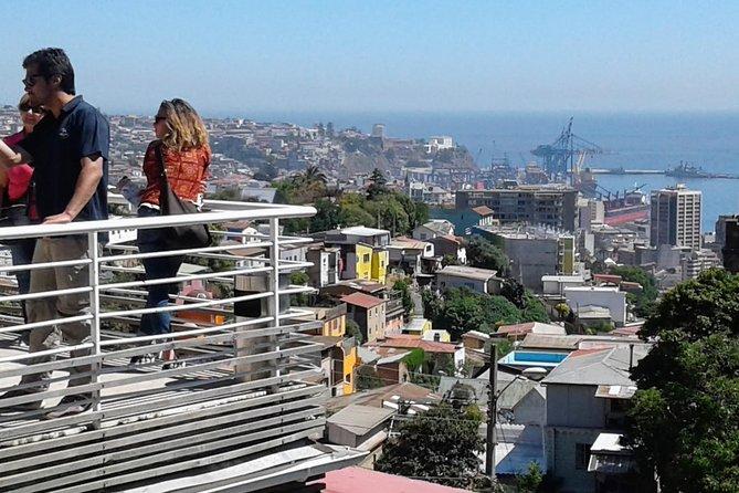 Excursión de día completo a Valparaíso, Viña del Mar y el Valle de Casablanca desde Santiago