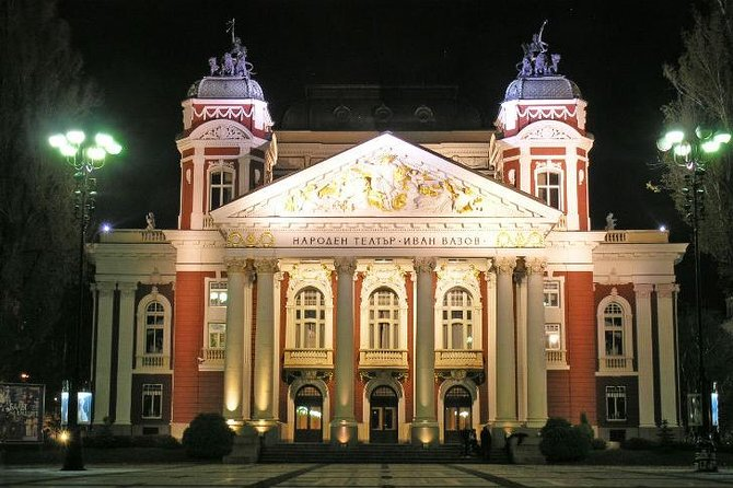 Sofia by night with folklore show