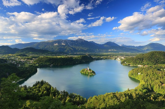Best of Lake Bled - all must see Bled attractions with free time for swimming or walking around