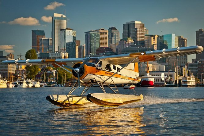 Seaplane Flight Over Seattle