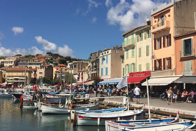 Cassis Small Group Half Day Afternoon Tour from Marseille