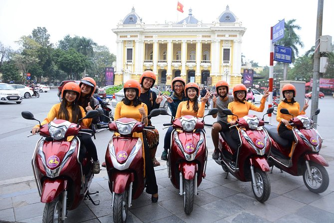 Hanoi City Insight Motorbike Tour - 4,5 hours