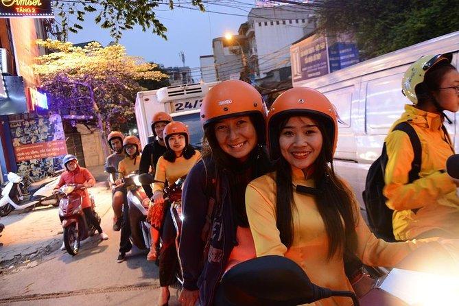 Hanoi By Night Foodie Motorbike Tour- 4 hours