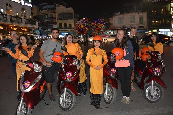 Hanoi By Night Foodie Motorbike Tour- 4 hours