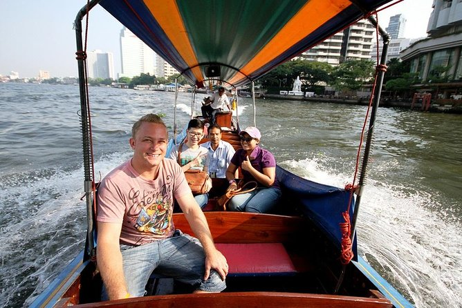 Backwaters of Bangkok Long-tail Boat Cruise with Optional Temples Tour