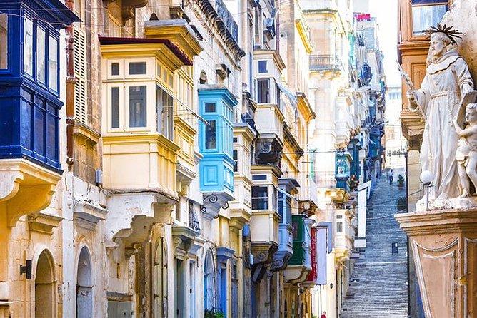 Typical street in Valletta