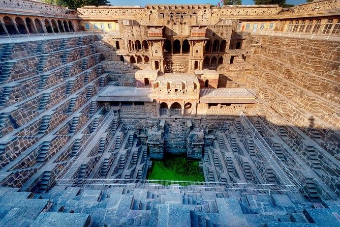 Abhaneri Step Wells and Monkey Temple Private Day Tour