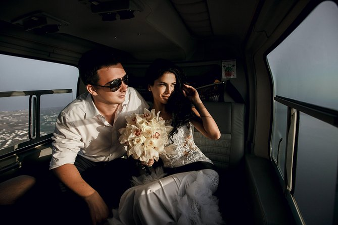 Private New York City Helicopter Tour for Couples from Westchester