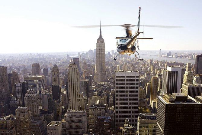 Manhattan Helicopter Tour vanuit Westchester (gedeeld)