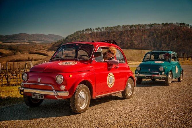 Tour Con Guida Di Una Fiat 500 D Epoca Da Firenze Degustazione Di Vini Toscani