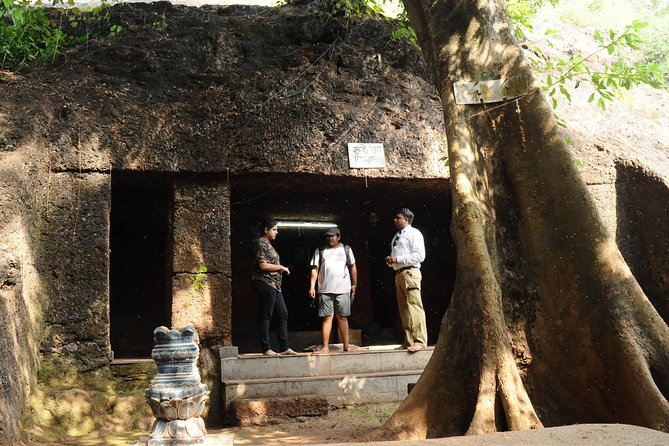 North Goa Caves visit with an Architect