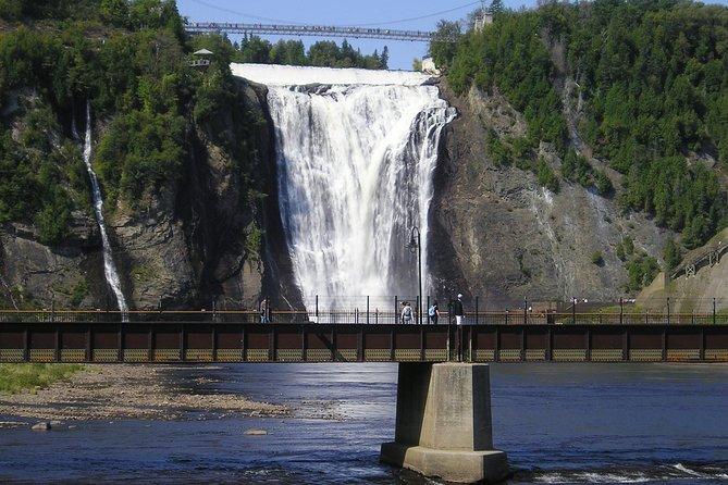 Montmorency Falls Bike Tour in Quebec