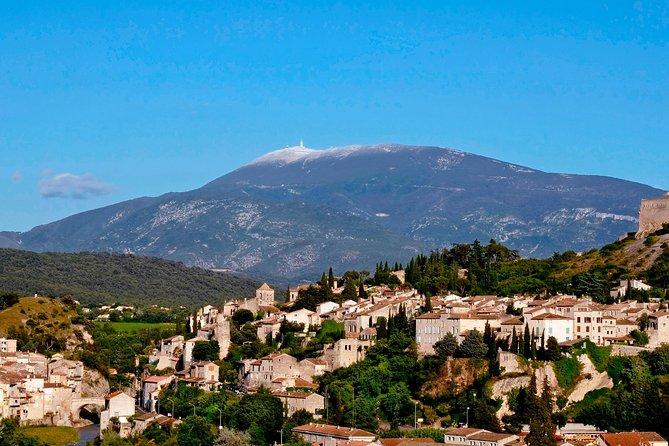 Dagtrip met kleine groep Vaison-la-Romaine en Séguret vanuit Avignon inclusief Provençaalse wijn- en kaasproeverij