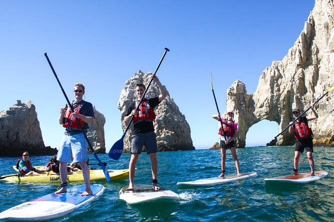 GUIDED STAND UP PADDLE AND SNORKEL AT THE ARCH