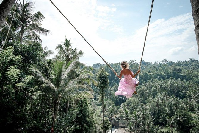 Best Of Ubud Tour: UNESCO Rice Terrace With Jungle Swing