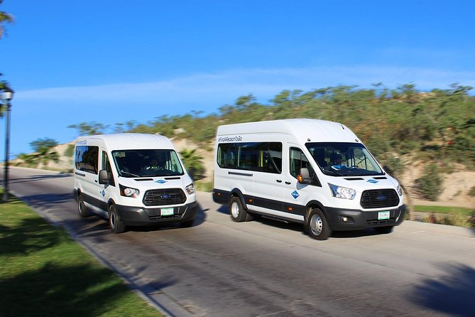 Los Cabos Private Mini Bus One-way Transportation
