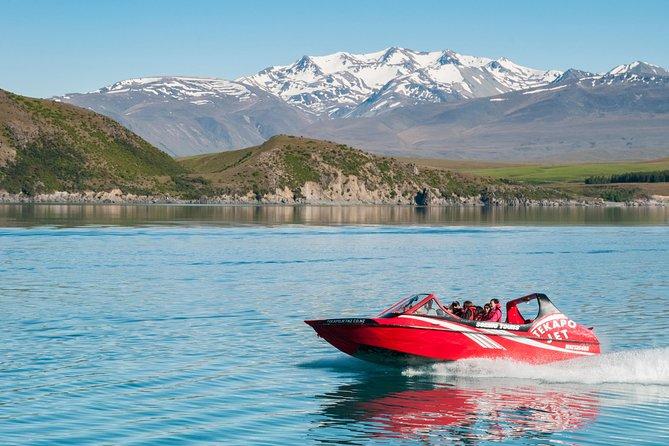 Lake Tekapo Scenic Jet Boat Experience