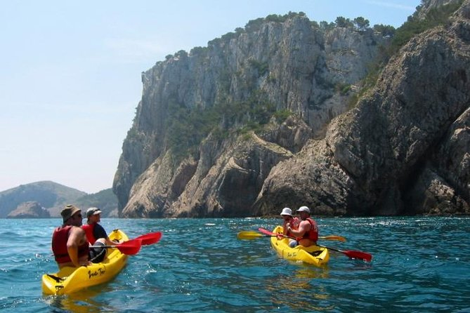 Costa Brava Kayak Experience with Snorkel and Paddle from Barcelona