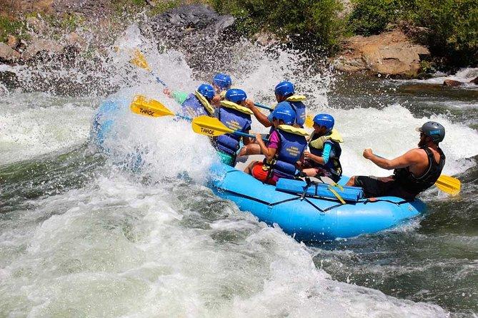 Rivière South Fork American: parcours de la gorge (eau blanche de classe III)