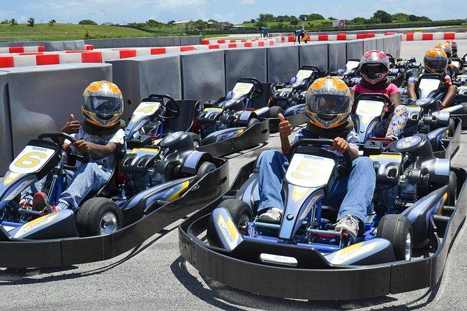 Kids Karting at Bushy Park Barbados