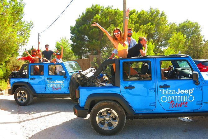 IBIZA JEEP TOURS - JEEP TOUR & PAELLA BY THE SEA (minimum 4 persons)