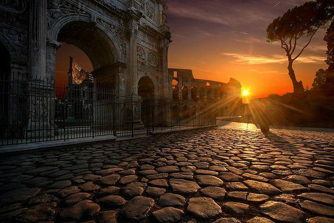 Amazing Sunrise Tour in Rome