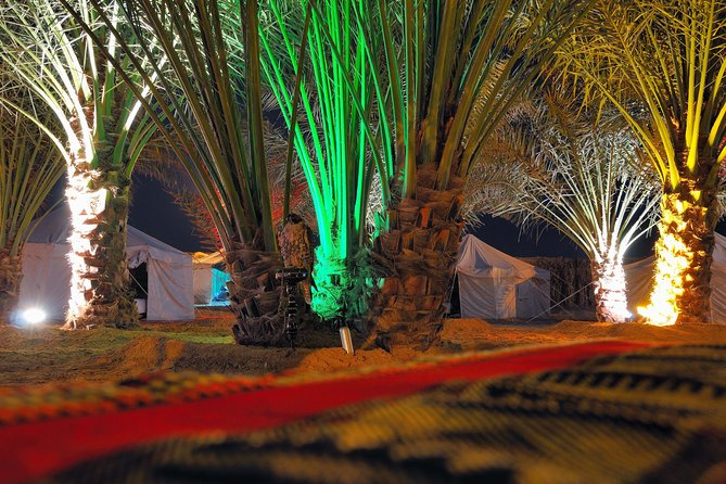 Pernoite no Bedouin Desert Camp Experience de Abu Dhabi, incluindo Dune Bashing e Jantar de Churrasco