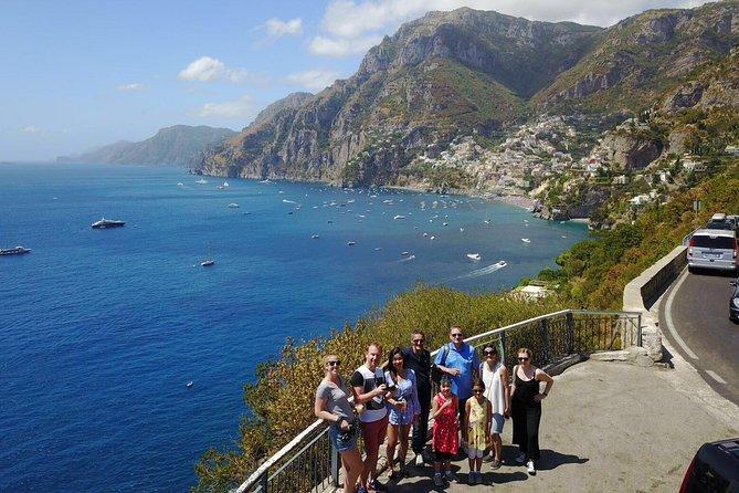 Privat Pompei & Amalfi kyst drev med Positano stop fra Rom