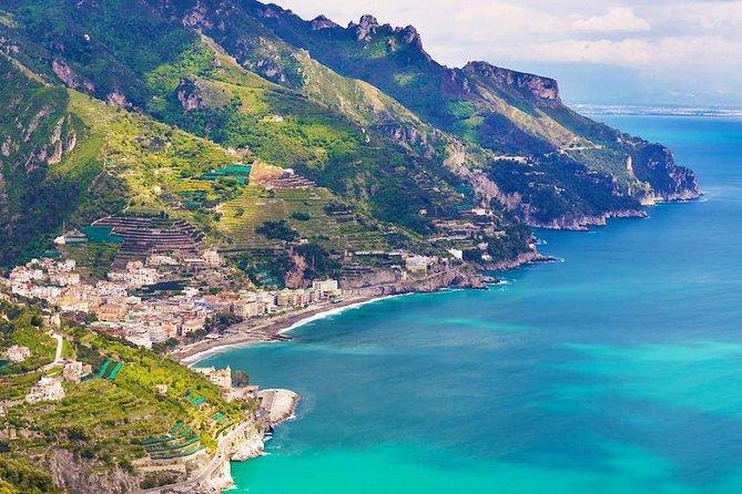 Amalfi Coast drive with Ravello, Amalfi&Positano stop day-trip from Rome