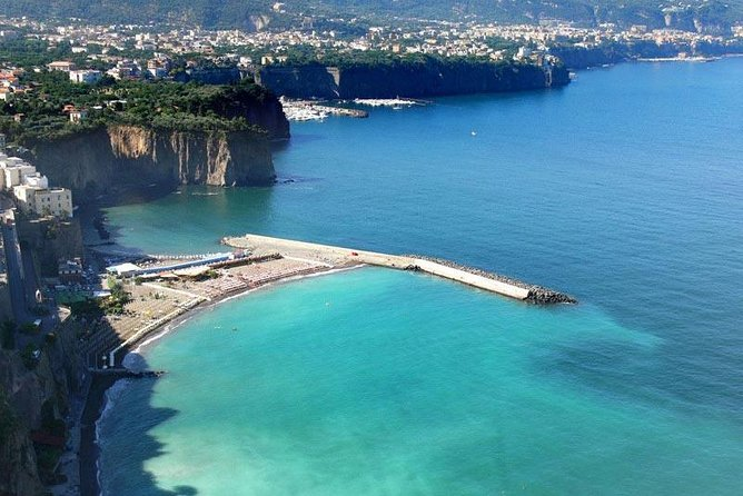 Pompeii&Sorrento with light lunch included day-trip from Rome