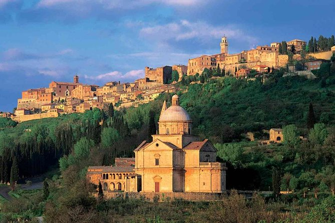 Montalcino Pienza Montepulciano with wine tasting day-trip from Rome