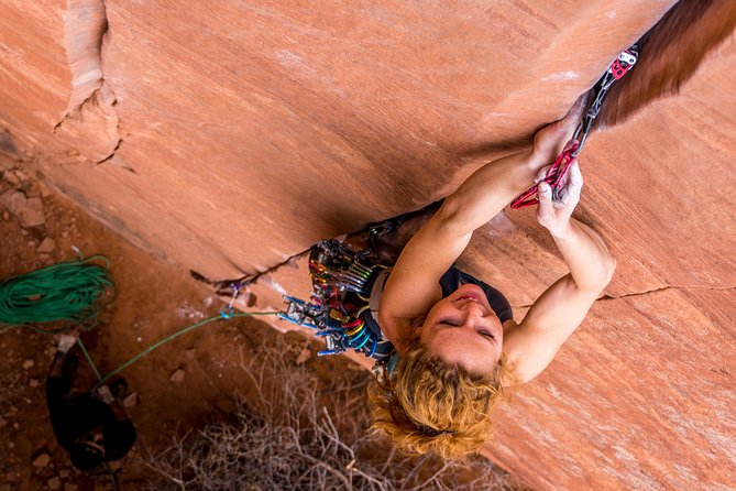Moab Full-Day Rock Climbing