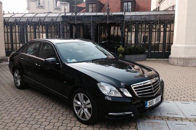 Prague Chauffeur Service Mercedes E class for 6 hours