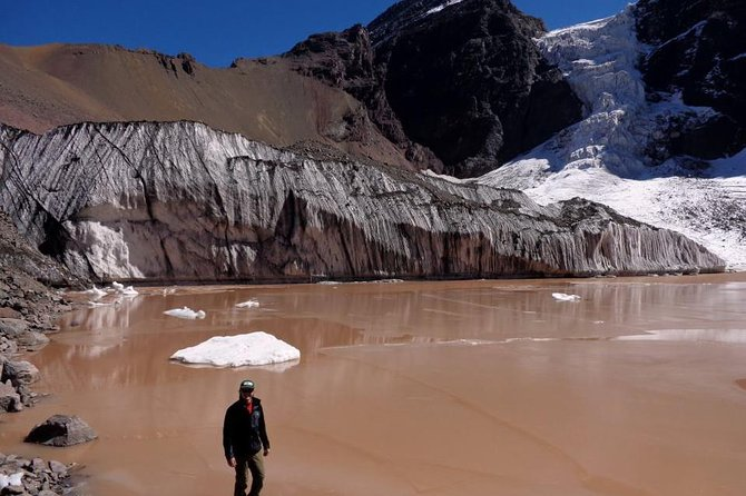 2-Day Private Glacier Hike and Hot-springs from Santiago, Carbon Neutral