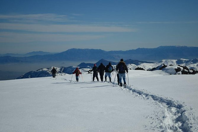 Snow Hiking in The Andes from Santiago, carbon neutral