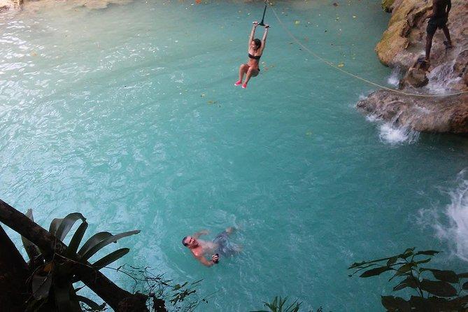 Blue Hole Natural Falls