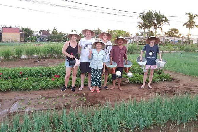 Private daytrip to Experience Hoi an Rural Eco Tour from Da Nang or Hoi An city