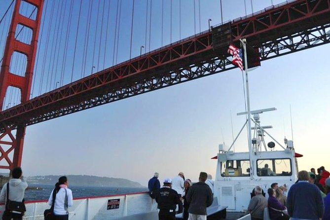 Muir Woods Tour with 1-Hour Golden Gate Bay Cruise from San Francisco